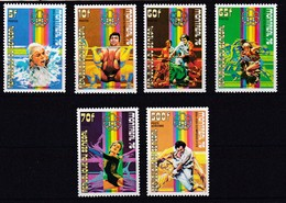 Senegal Nº 439 Al 443 Y A153 - Senegal (1960-...)