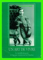 ADVERTISING - PUBLICITÉ - MUSÉE DE LA CIVILISATION, QUÉBEC -  UN ART DE VIVRE - CIRCULÉE EN  1993 - - Publicité