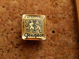 Pin's  -  L' AVENTURE PEUGEOT - Peugeot