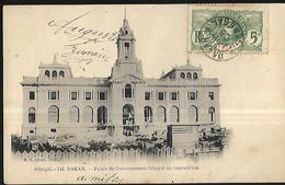 Sénégal     Dakar   Palais Du Gouvernement Général  En Construction  CPA 1906 - Senegal