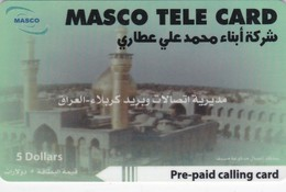 Iraq, IQ-PRE-MAS-?, $5, Mosque, 2 Scans . - Irak