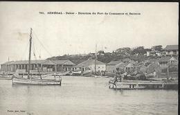 Sénégal     Dakar   Direction Du Port De Commerce Et Batterie   CPA 1906 - Senegal
