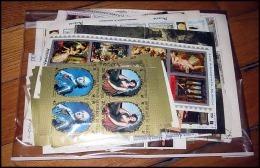 Départ 1 Euro (lot 7a) THEMATIQUE Collection De 105 BLOCS Séries Forte Cote Art Peinture Tableaux (art Painting) - Francobolli