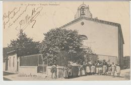 650-Vergeze-Gard-Francia-Tempio Protestanti-Religione-Animata-v.1903 X L'estero:Sardegna-Italia- - Vergèze