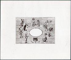 GB 3 X Gerald King, Alice In Wonderland, Cinderella 'Black Prints' - Cinderellas