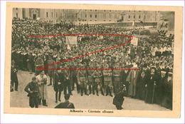 M5603 ALBANIA GIORNATE ALBANESI FASCIO NON VIAGGIATA - Albanie