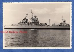 Photo Ancienne - TOULON - Navire De Guerre JEAN BART - Aout 1960 - Bateau Militaire Marine Nationale - Schiffe