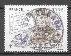 FRANCE 2017 - Timbre - Augustin-Alphonse Marty 1862-1940 Oblitéré Cachet Rond - France