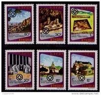 (259) Ethiopia / Ethiopie  Culture / Heritage / Archeology / 1980 ** / Mnh  Michel 1080-85 - Ethiopia