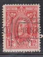SOUTHERN RHODESIA Scott # 17 Used - KGV Definitive - Southern Rhodesia (...-1964)