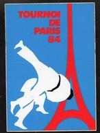 JUDO TOURNOI DE PARIS 1984 -  AUTOCOLLANT N°145 - Stickers