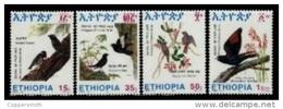 (344) Ethiopia / Ethiopie  Birds / Oiseaux / Vögel / Vogels / 1993   ** / Mnh  Michel 1427-30 - Ethiopia