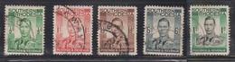 SOUTHERN RHODESIA Scott # 42-4, 46, 50 Used - KGVI Definitives - Southern Rhodesia (...-1964)