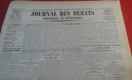 Journal Des Débats Politiques Et Littéraires N° 243 2 Septembre 1936 Guerre Espagne Bombardement Irun, Burgos,Oviedo - Newspapers