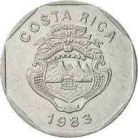 Monnaie, Costa Rica, 10 Colones, 1983, TTB+, Stainless Steel, KM:215.1 - Costa Rica