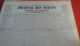 Journal Des Débats Politiques Et Littéraires N° 244 3 Septembre 1936 Guerre Espagne Assaut D'Irun,Huesca,Société Nations - Newspapers