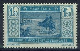 Mauritania, Camel Drivers, 1f.50 1928, MH VF - Mauritania (1906-1944)