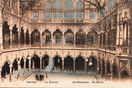 AK Antwerpen, La Bourse,Feldpost, Gelaufen 1916 - Antwerpen