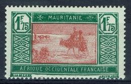 Mauritania, Camel Drivers, 1f.75 1928, MH VF - Mauritania (1906-1944)