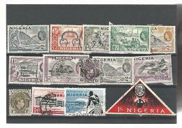 56081 ) Collection Nigeria  Postmark    King Queen - Nigeria (...-1960)