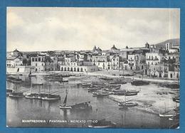 MANFREDONIA FOGGIA MERCATO ITTICO VG, 1952 - Manfredonia