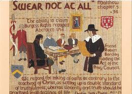 Oaths - Panel A9 Of The Quaker Tapestry - Articles Of Virtu