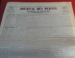 Journal Des Débats Politiques Et Littéraires N° 245 4 Septembre 1936 Guerre Espagne Chute Irun Imminente,Huesca,Tolède.. - Newspapers