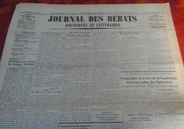 Journal Des Débats Politiques Et Littéraires N° 248 7 Septembre 1936 Guerre Espagne Fontarabie Fort Guadalupe,Tolède... - Newspapers