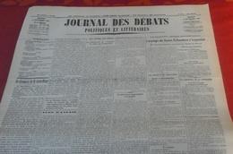 Journal Des Débats Politiques Et Littéraires N° 249 8 Septembre 1936 Guerre Espagne Siège Saint Sebastien,Talavera... - Newspapers