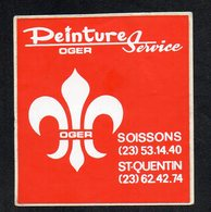 PEINTURE SERVICE OGER SOISSONS ST QUENTIN -  AUTOCOLLANT N°150 - Stickers