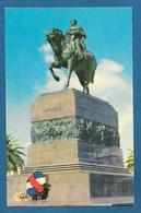 URUGUAY MONTEVIDEO R.O. DEL U. MONUMENTO AL LIBERTADOR JOSE ARTIGAS 1960 - Uruguay