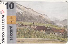 SWITZERLAND - Yvorne, Chip GEM2.1, 08/96, Used - Switzerland
