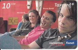 SWITZERLAND -  Familie Bondi, Chip GEM3.1, Exp.date 09/07, Used - Switzerland