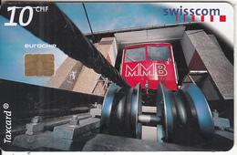 SWITZERLAND - Swiss Mountain Transport Technology/Muottas Muragl Funicular, Chip Siemens 35,  01/99, Used - Switzerland