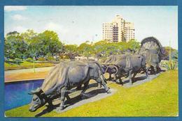 URUGUAY MONTEVIDEO R.O. DEL U. MONUMENTO A LA CARRETA 1964 - Uruguay
