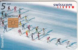 SWITZERLAND - Ski, Chip GEM2.3, 09/98, Used - Switzerland