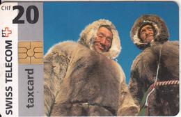 SWITZERLAND - Countries/Alaska, Chip GEM2.1, 08/97, Used - Switzerland
