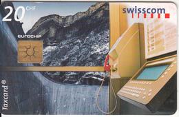 SWITZERLAND - Payphone, Gigerwald Dum, Chip GEM2.2, 12/98, Used - Switzerland