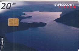 SWITZERLAND - Lake Zugersee, Chip Siemens 35, 12/97, Used - Switzerland
