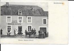 Bellefontaine - Maison: Bodson-Gérard - Café / Charcuterie / Boucherie - Attelage - Etat: Voir 2 Scans. - Tintigny