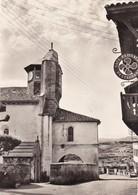 BIDART: L'Eglise,Café ELISSALDE - Bidart