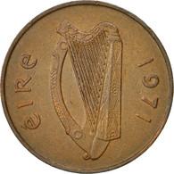 Monnaie, IRELAND REPUBLIC, 2 Pence, 1971, TTB+, Bronze, KM:21 - Irlande