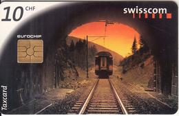 SWITZERLAND - Connecting Switzerland/Train, Chip GEM2.3, 07/98, Used - Switzerland