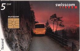 SWITZERLAND - Landscape, Connecting Switzerland/Bus, 07/98, Used - Landscapes