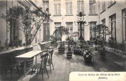 Anvers - Cour Et Jardin De L'Hôtel De La Paix - Antwerpen