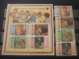 SWAZILAND - 1979 QUADRI INFANZIA 4 VALORI + BF - NUOVI(++) - Swaziland (1968-...)