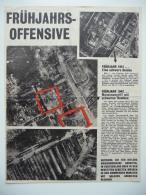 WWII WW2 Tract Flugblatt Propaganda Leaflet In German, PWE G Series/1942, Code G.15, Frühjahrsoffensive - Non Classés