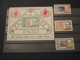 SWAZILAND - 1979 HILL 3 VALORI + BF - NUOVI(++) - Swaziland (1968-...)