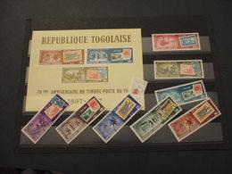 TOGO - 1967  POSTE/TEMATICHE 8 VALORI + BF - NUOVI(++) - Togo (1960-...)