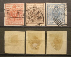 Lombardei & Venetien Lot 1850 - 1854 Sehr Höher! KW.-   (K403) - Oriente Austriaco
